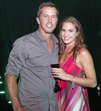 Mike Modano and Allison Micheletti