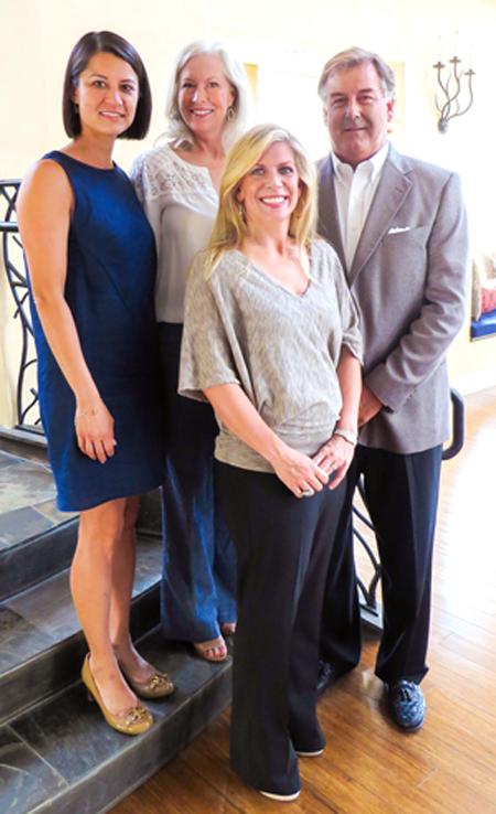 Claire Raggio, Lauren Arthur; Courtney Westerburg and Pat Arthur*