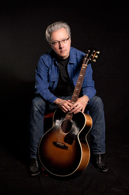 Mission Olé Is Bringing Santa Fe To Anne And Steve Stodghill's Estate With Radney Foster Strumming His Guitar