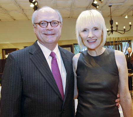David Nichols and Erin Mathews