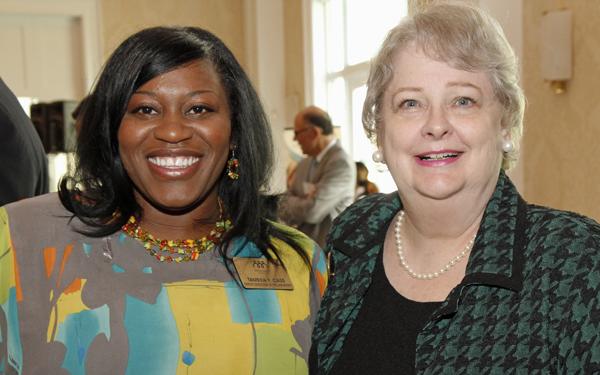Tamkea Cass and Charlene Howell
