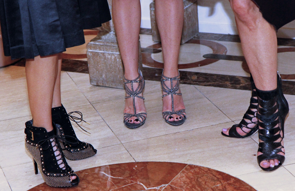 Alexander McQueen, Jimmy Choo and Bryan Atwood
