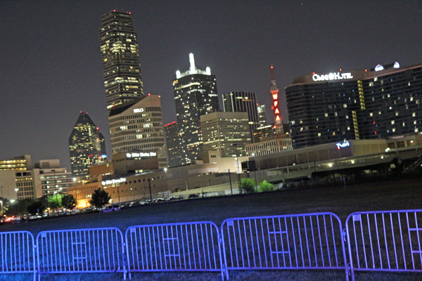 Going dark for Reunion Tower's fireworks