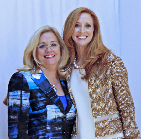 Ann Dyer and Tiffany Divis