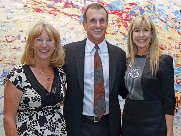 Holly Mayer, Lucilo Pena and Nancy Carlson