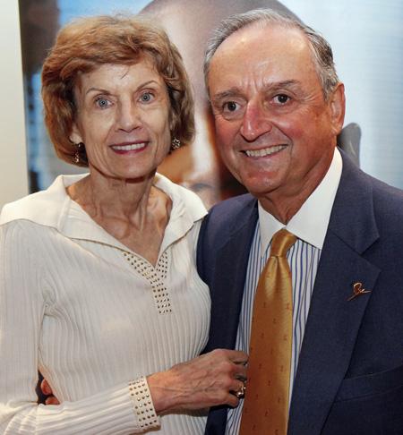 Bonnie and John Strauss