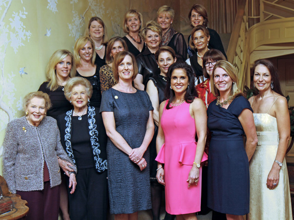 Junior League of Dallas past and current presidents and ball chairs