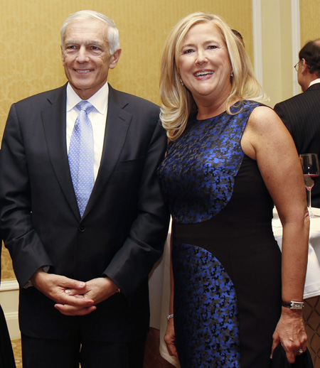 Wesley Clark and Gina Betts