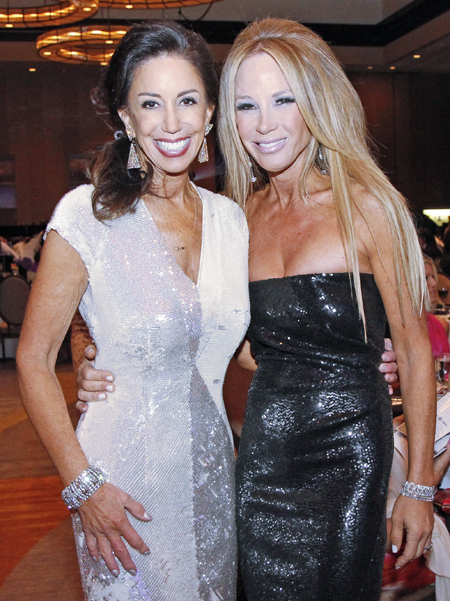 Jocelyn White and Stacey Kivowitz