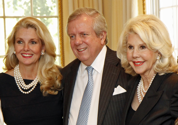 Libby Hunt and Mike and Sharon McCullough