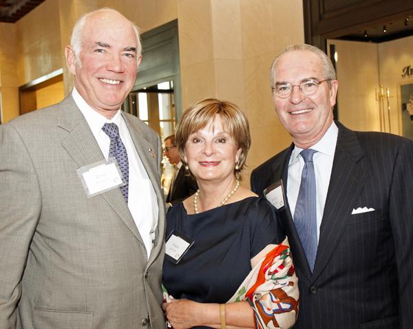 Robin Robinson and Karen and David Shutte