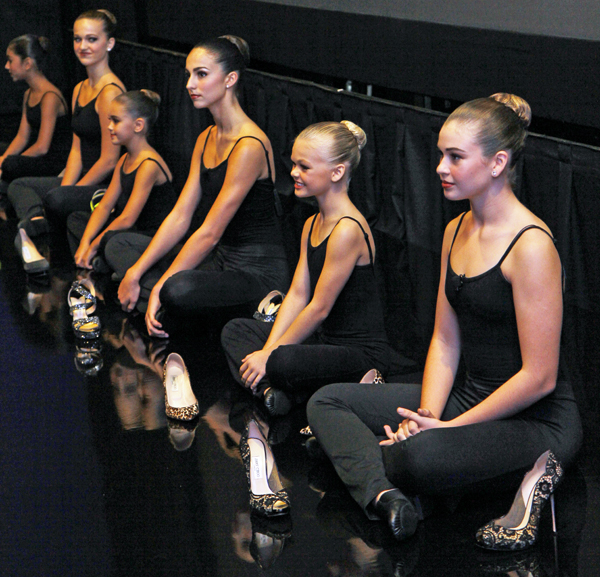 Dallas Youth Repertory Project with dancing shoes