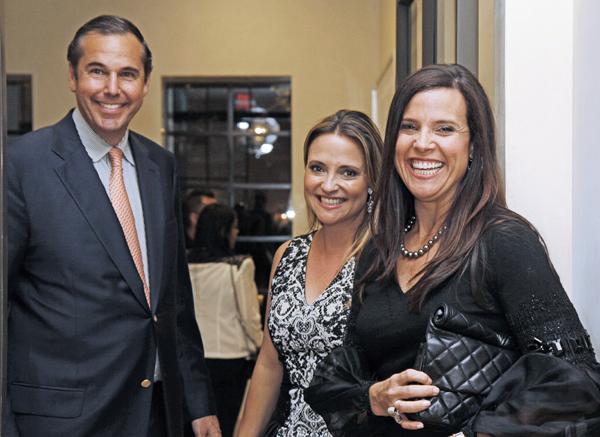 Ray Washburne, Elisa Summers and Heather Washburne