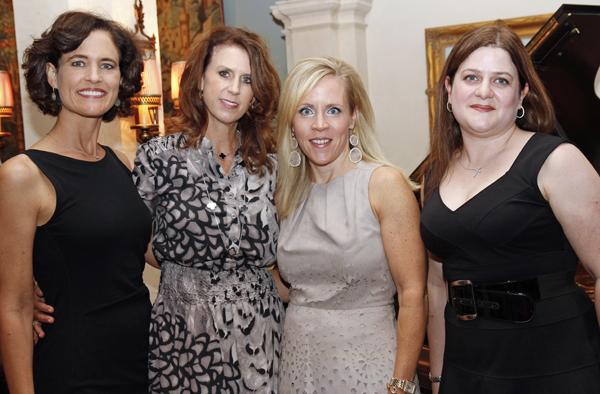Kelly Cruse, Heather Hicks, Leigh Anne Haugh and Elizabeth Dacus