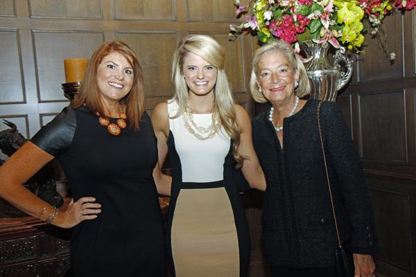 Katie Pedigo, Taryn Stinson and Laura McClung