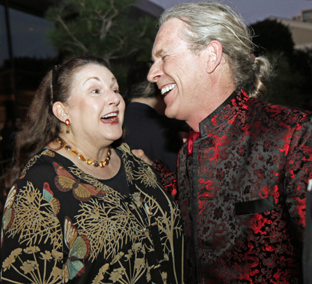 Barbara Crow and Trammell S. Crow
