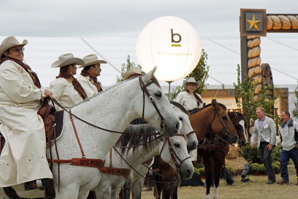 U.S. Marshals on horseback