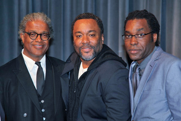 Elvis Mitchell, Lee Daniels and James Faust