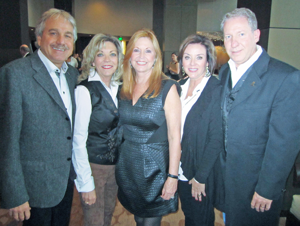 Doug Brooks, Cindy Feld, Holly Brooks and Elizabeth and Perry Smith
