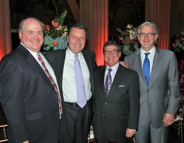 Lee Papert, Geoff Hawkes, Arthur Benjamin and Michael Cain
