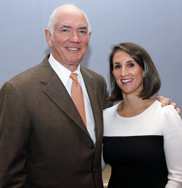 Robin Robinson and Isabell Novakov