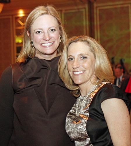 Jennifer Sampson and Nicole Small
