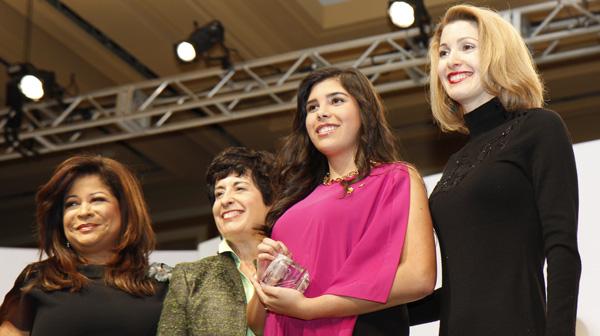Clarice Tinsley, Millie Bradley, Alexandra Villareal and Colleen Walker