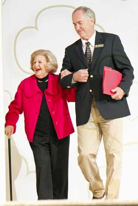 Lindalyn Adams and Eddie Mullens