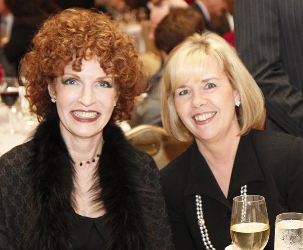 Sarah Losinger and Christie Carter