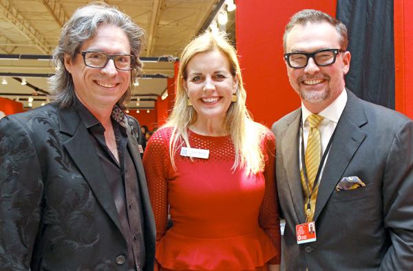 Clint Bradley, Debra Nelson and John Bobbitt