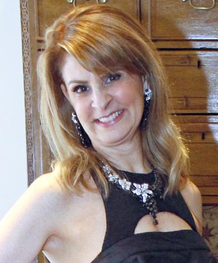 Caren Kline in Diamond Doctor diamonds