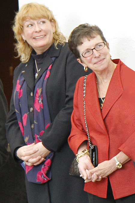 Kimberly Humphries and Diane Brierley
