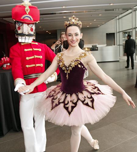 Texas Ballet Theater's Sugar Plum Fairies Hit The Catwalk In Naeem Khan Creations At The Winspear For Tutu Chic
