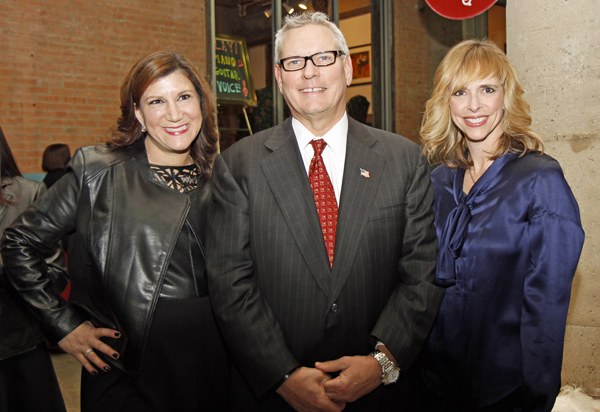 Jill Tananbaum, Ronnie Berg and Cindy Stager