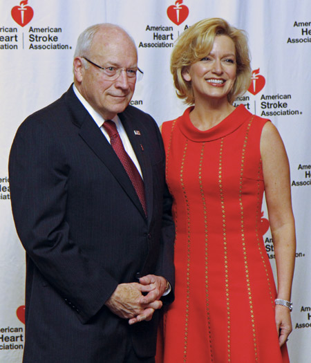 Dick Cheney and Kate Rose Marquez