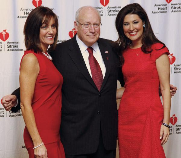 Barbara Smith, Dick Cheney and Capera Ryan