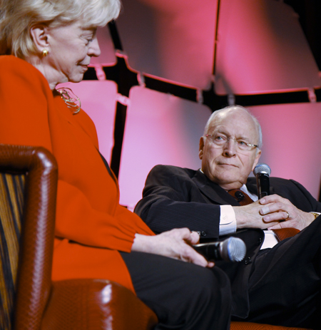 Lynne and Dick Cheney