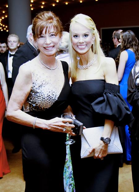 Betty Osborne and Katy Bock