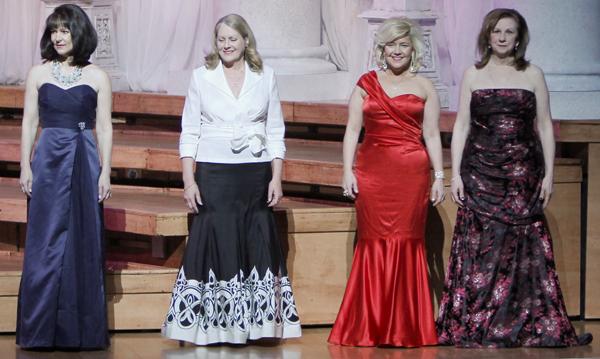 Sharon Ballew, Cynthia Beaird, Marena Gault and Sharon Popham