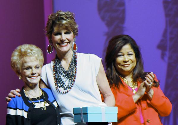 Ellen Terry, Dawn Mellon and Clarice Tinsley