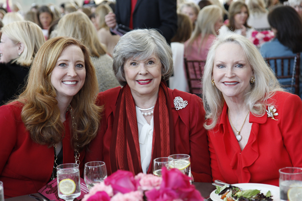 Tiffany Divis, Dee Wyly and Jill Rowlett