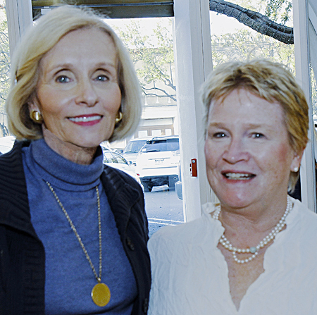 Carol Seay and Anne Leary