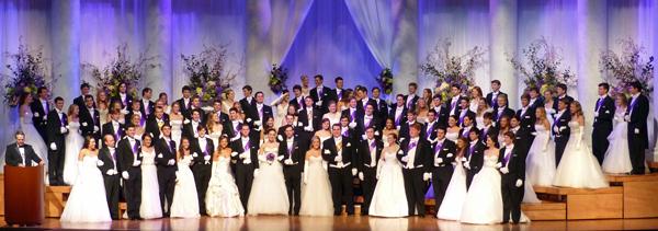 2014 Dallas Symphony Orchestra League Debutantes and Honor Guard Escorts