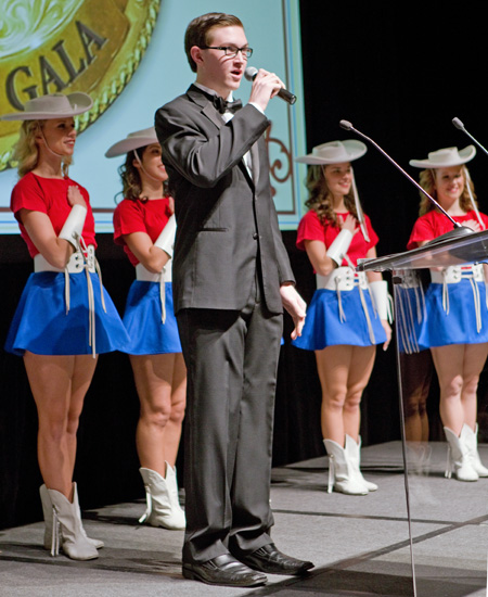 Christian Barham and the Kilgore College Rangerettes*