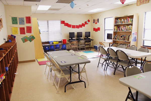 Wesley Rankin classroom