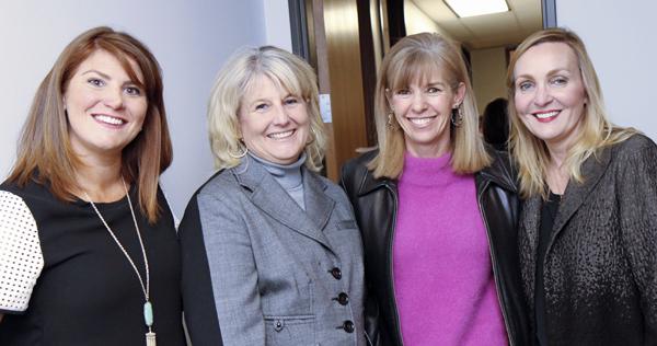 Katie Pedigo, Robin Bagwell, Jan Osborn and Dr. Melissa Tonn