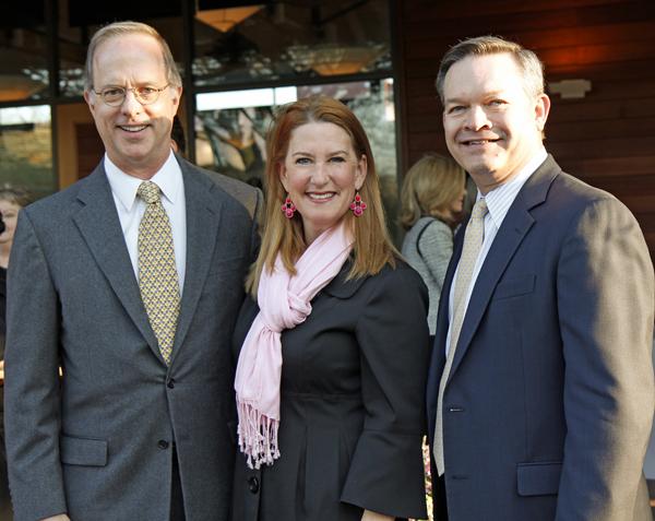 Brian Shivers, Gillian Breidenbach and Richard Holt