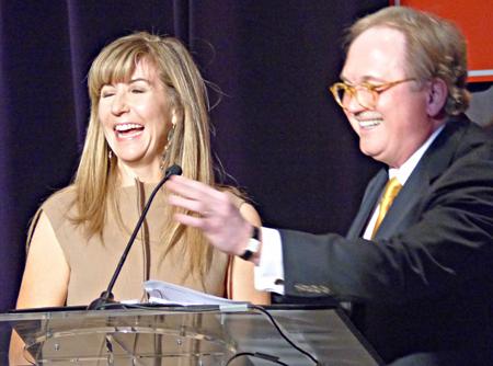 Nancy Carlson and Don Glendenning