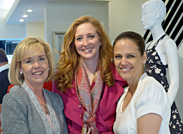 Christy Carter, Tiffany Divis and Angie Kadesky