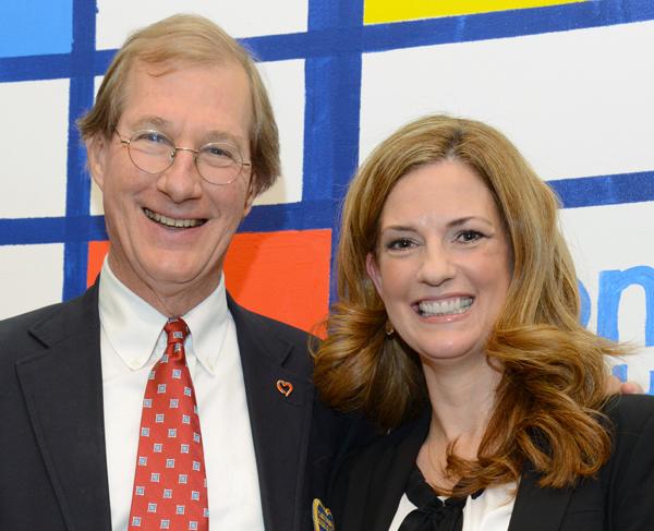 Bill Wilshusen and Michelle Kinder
